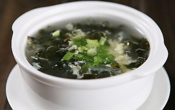 果蔬百科紫菜海带汤的功效与作用